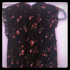 j. crew sleeveless peplum blouse.  Size medium.